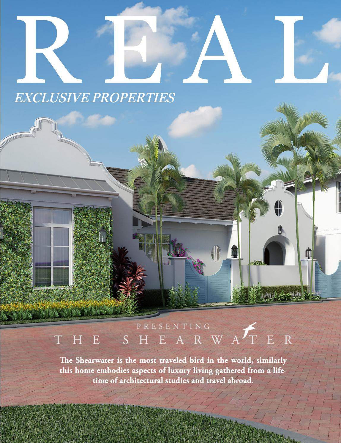 Real Exclusive Magazine Featuring Nautulis Homes Shearwater By Issuu