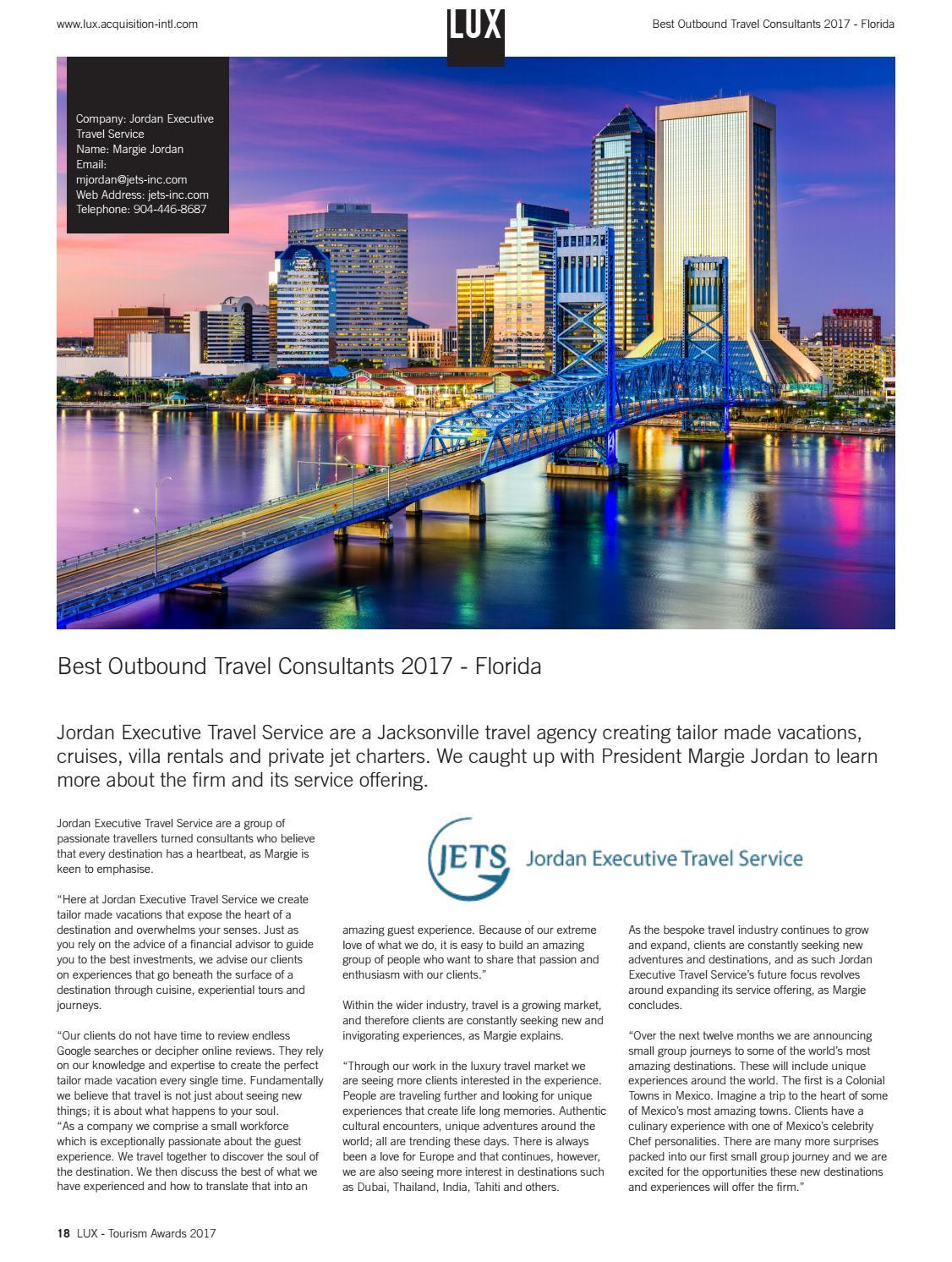 jordan executive travel