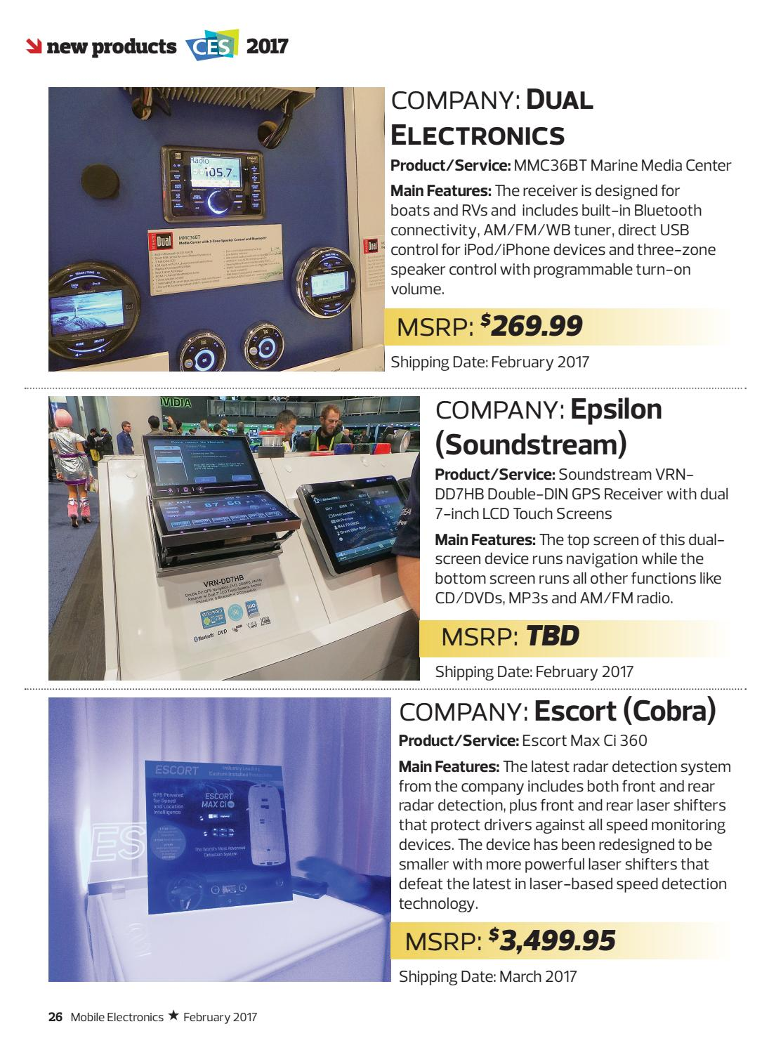 Mobile Electronics Magazine February 2017 by Mobile