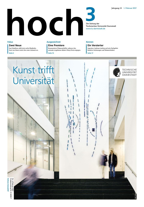 hoch³ #1/2017 by TU Darmstadt - issuu