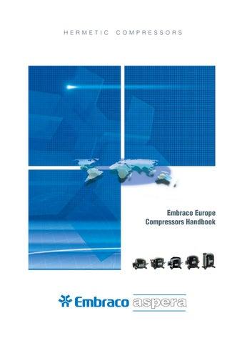 EMBRACO ASPERA REFRIGERATION COMPRESSOR NEK6187Z R134a HMBP 220//240V 50Hz CSIR