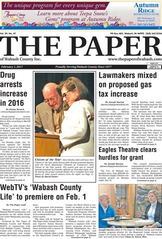 The Paper of Wabash County - Feb  1, 2017, Issue by The Paper of