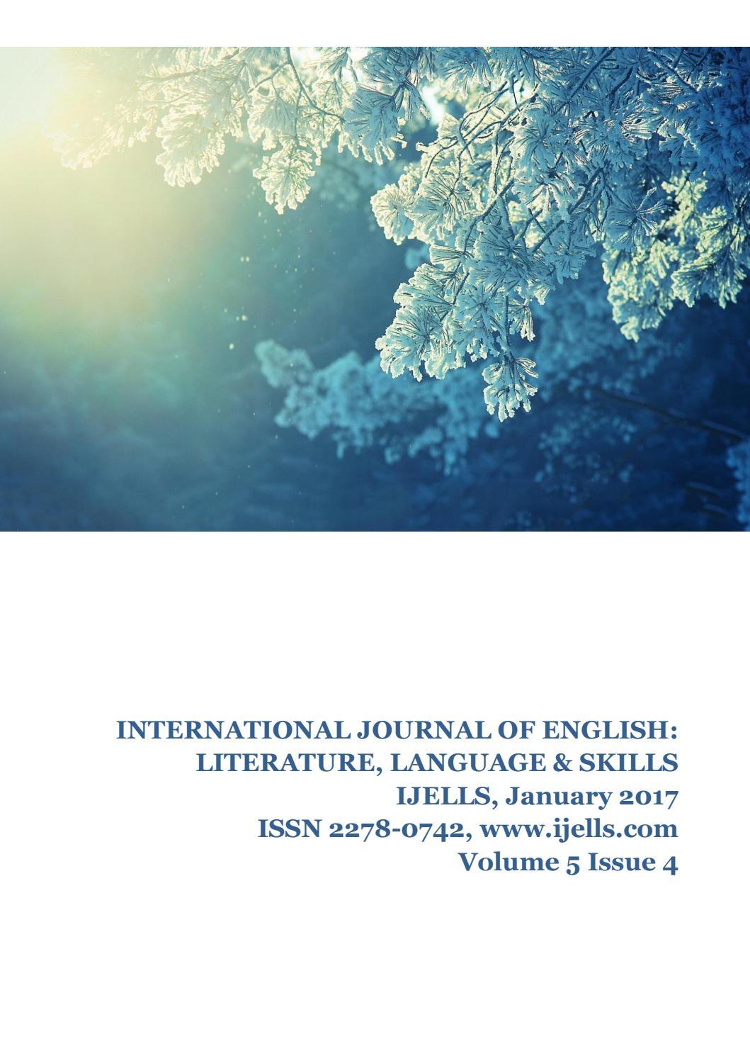 January 2017 by Editor, IJELLS - issuu