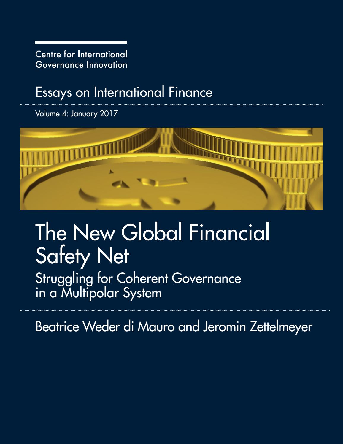 cigi essays on international finance volume 4 the new global financial essay vol 4 2 months ago cigi