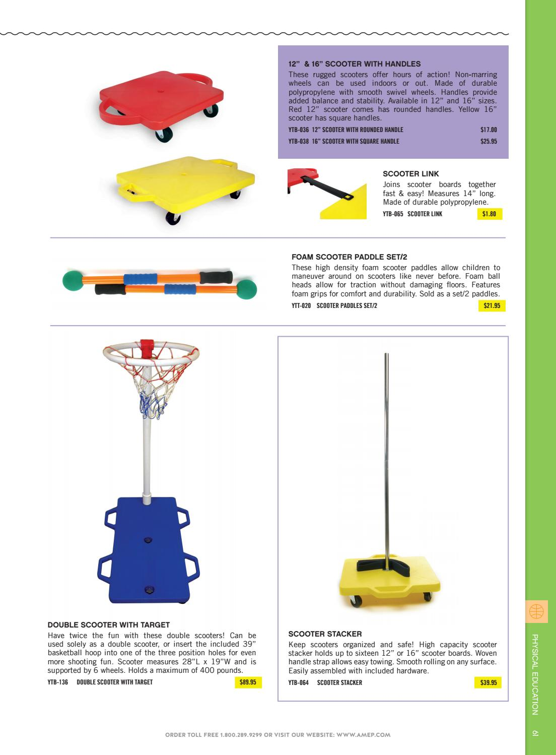 American Educational Products Foam Scooter Paddle Set of 2