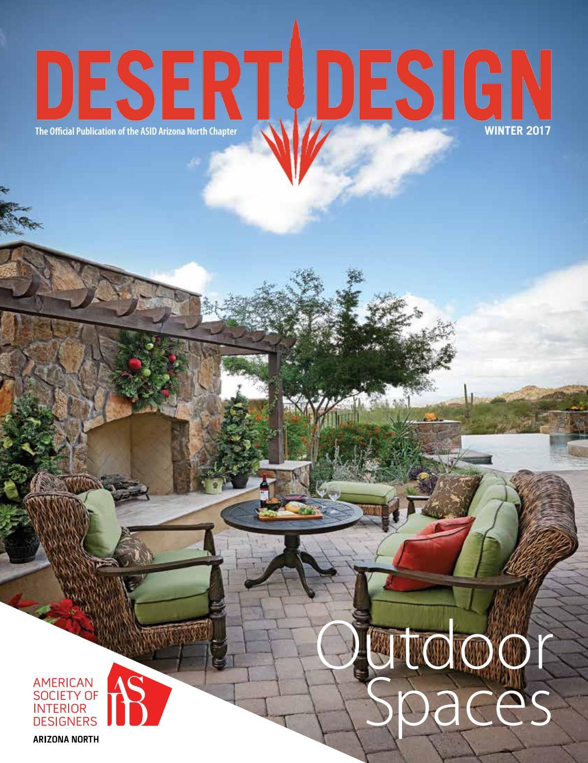 desert design magazine winter 2017 by arizona north chapter of
