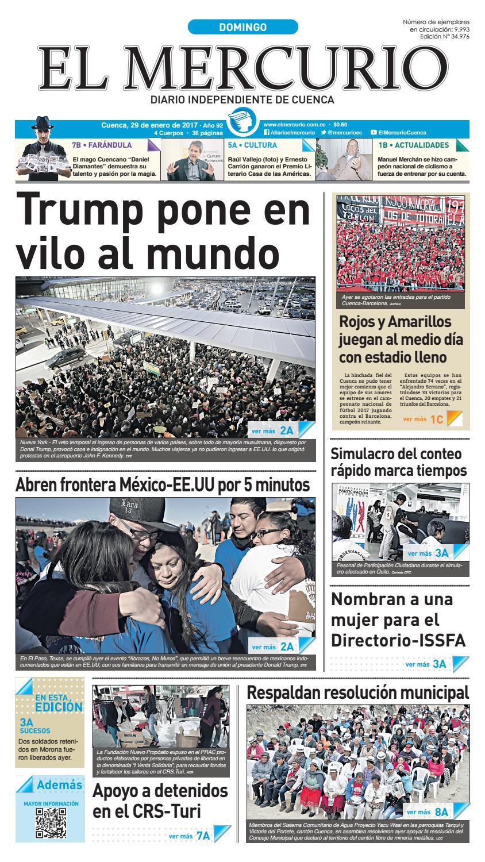 hemeroteca 29-01-2017 by Diario El Mercurio Cuenca - issuu 3f6b7c29000