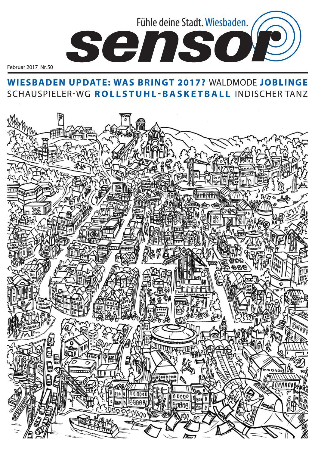 Sensor Wiesbaden 50 Februar 2017 By Magazin