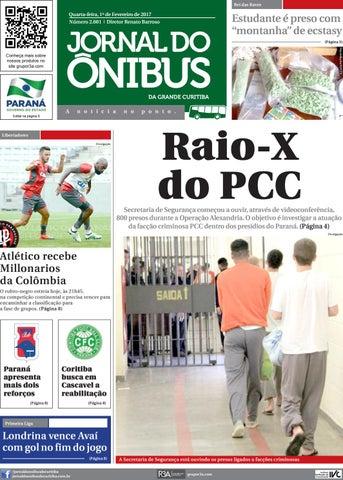 0894dc6c63 Editora Jornal do Ônibus - Edição do dia 01-02-2017 by Editora ...