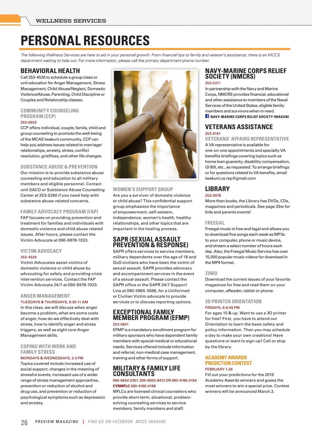Preview Magazine - February 2017 by MCCS Iwakuni - issuu