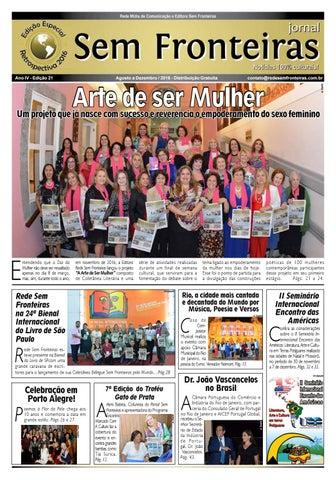 Jornal Sem Fronteiras - Agosto-Dezembro 16 - Edição Especial ... 55bfc03b0a165