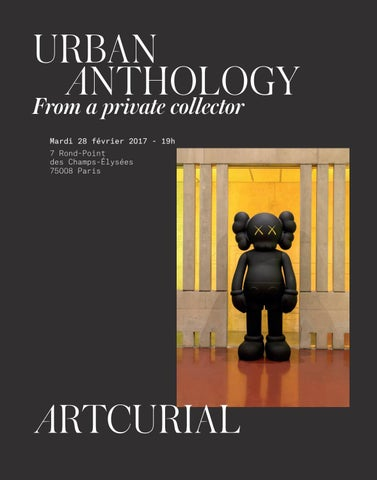 Urban Anthology By Artcurial Issuu