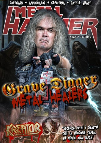 2e5b12a325 Metal Hammer Italia - 01 2017 by Metal Hammer Italia - issuu