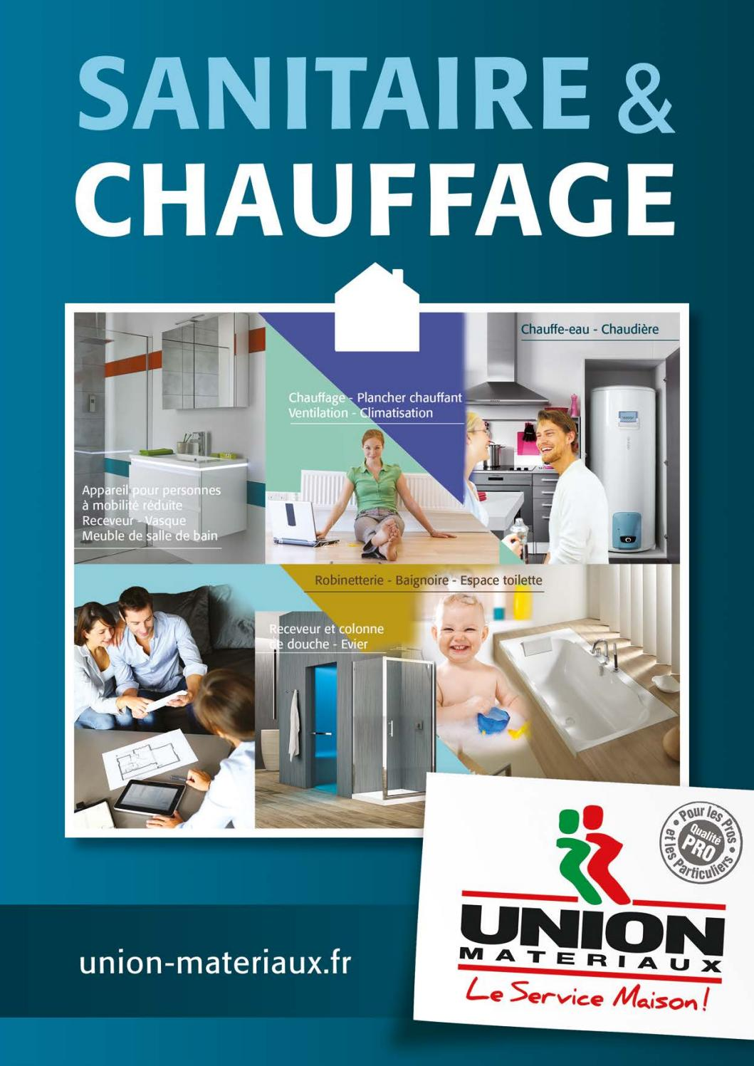 Catalogue Sanitaire 2017 By UNION MATERIAUX