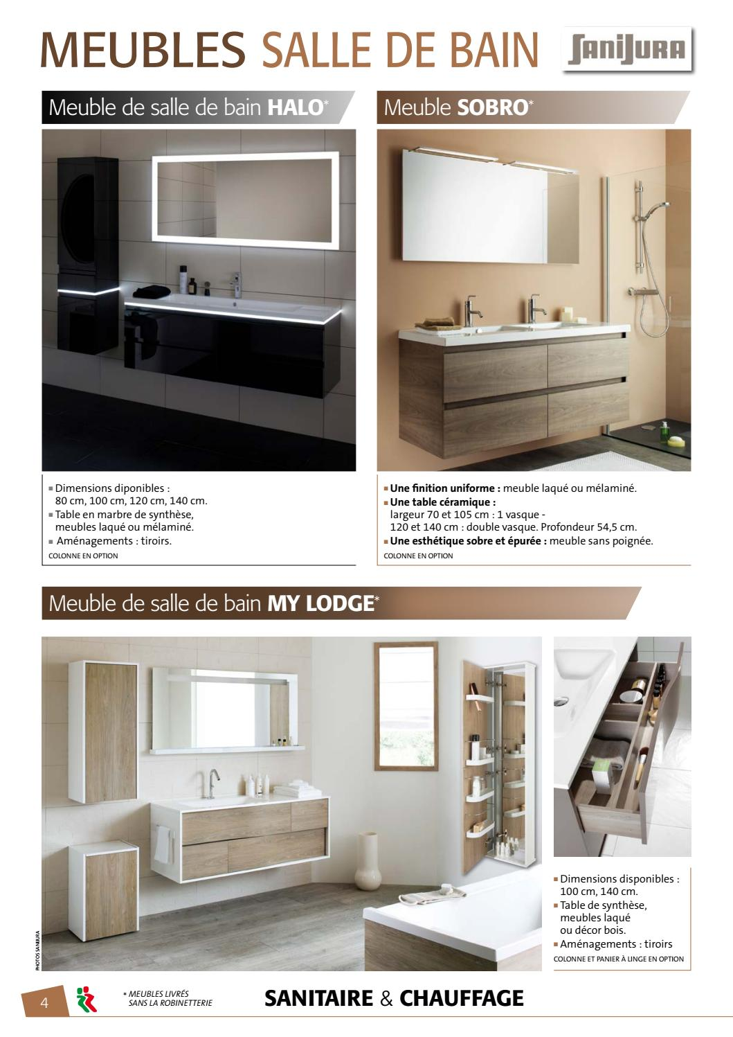 Catalogue sanitaire 2017 by UNION MATERIAUX - issuu