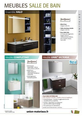 meuble salle de bain union materiaux