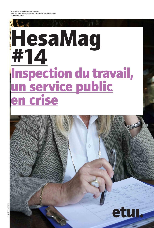 Hesamag 14 inspection du travail un service public en crise by etui issuu - Inspection du travail bourges ...