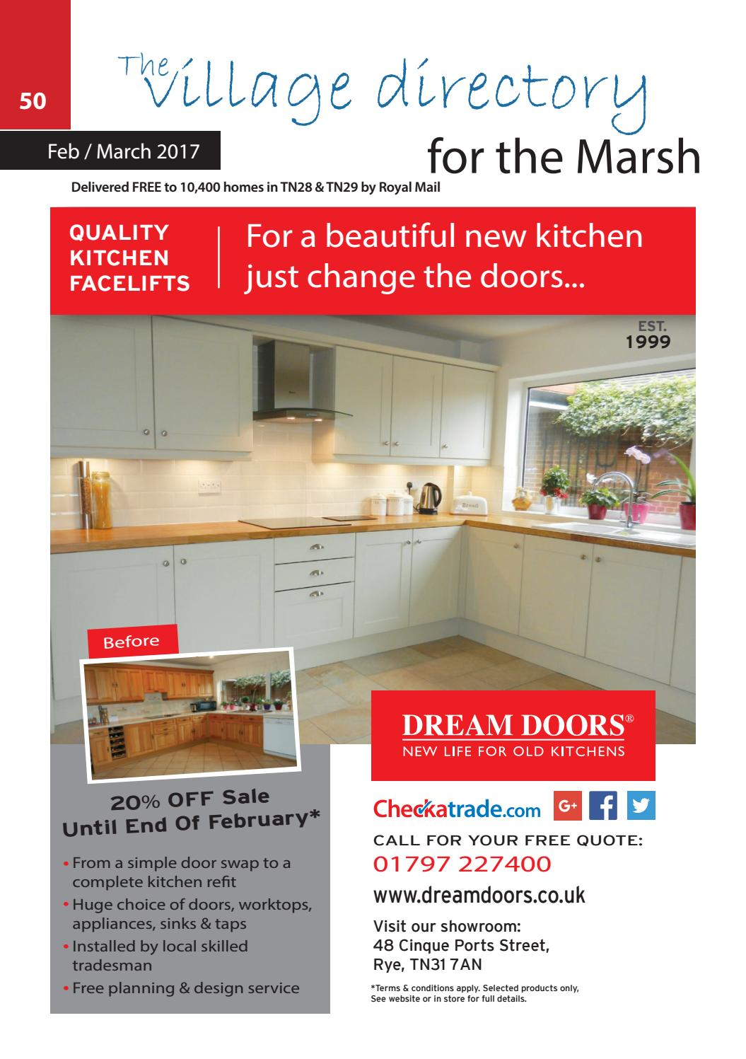 Marsh February 2017 By The Village Directory Issuu Bathroom Ceiling Extractor Fan Pull Cord Switch Moneysavingexpert
