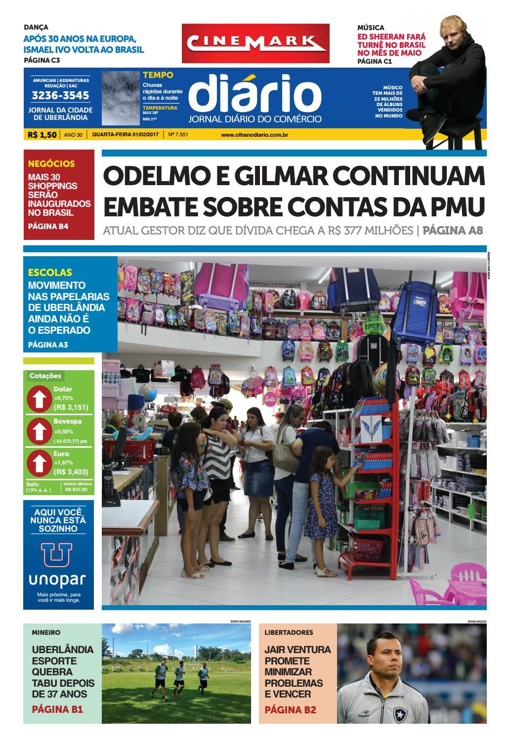 4c04dbbd5c Edição 01 02 2017 by Diário do Comércio - issuu