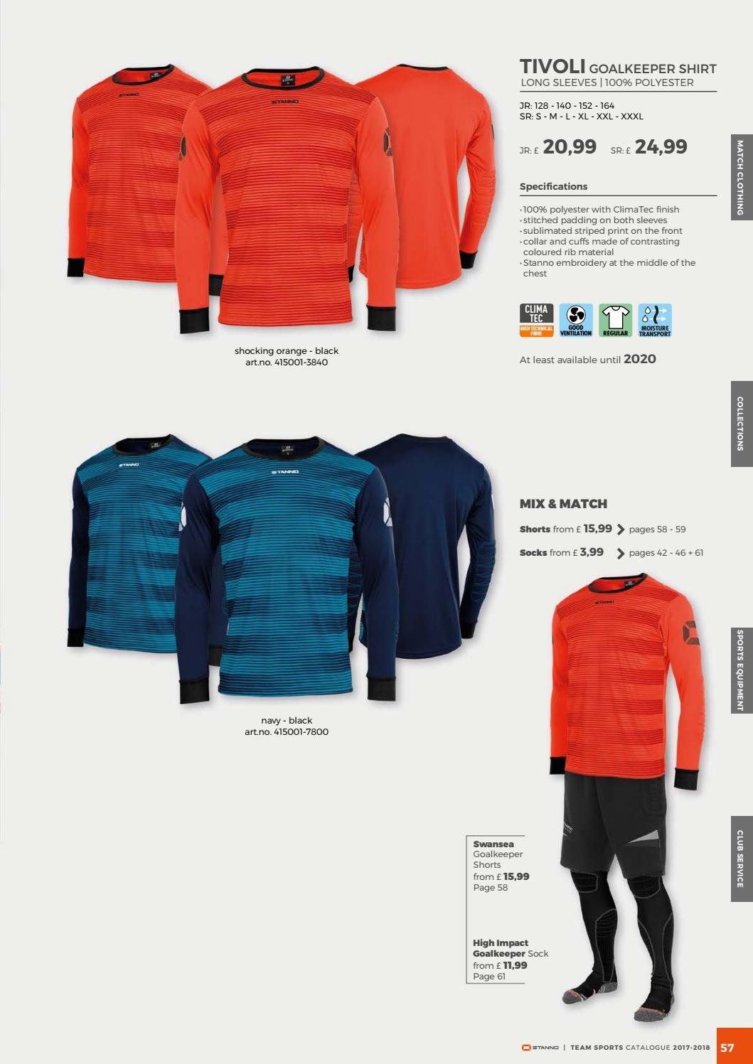 b921b799fad Stanno Catalogue 2017 United Kingdom by Deventrade BV - issuu