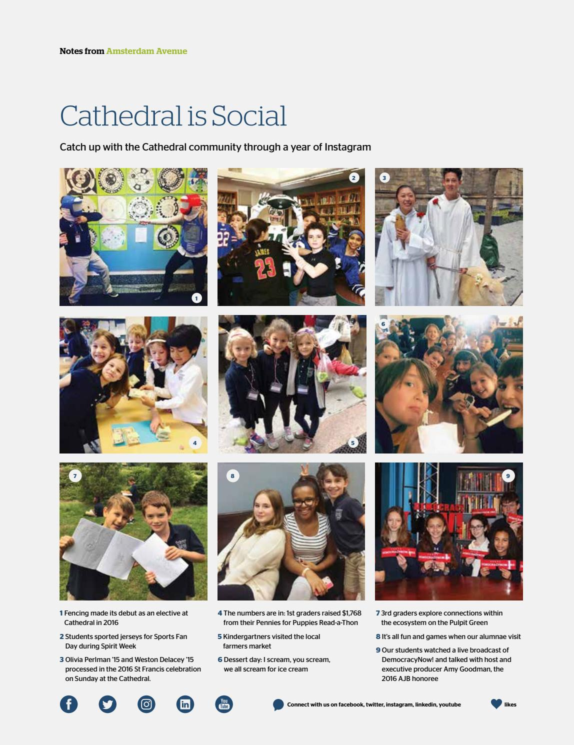 Cathedral Magazine (Winter 2017) by The Cathedral School of St  John