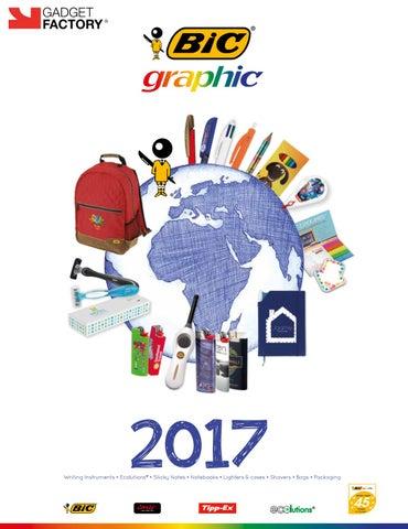 fe1b82f9b97 Bic Katalog 2017 by Gadget Factory - issuu