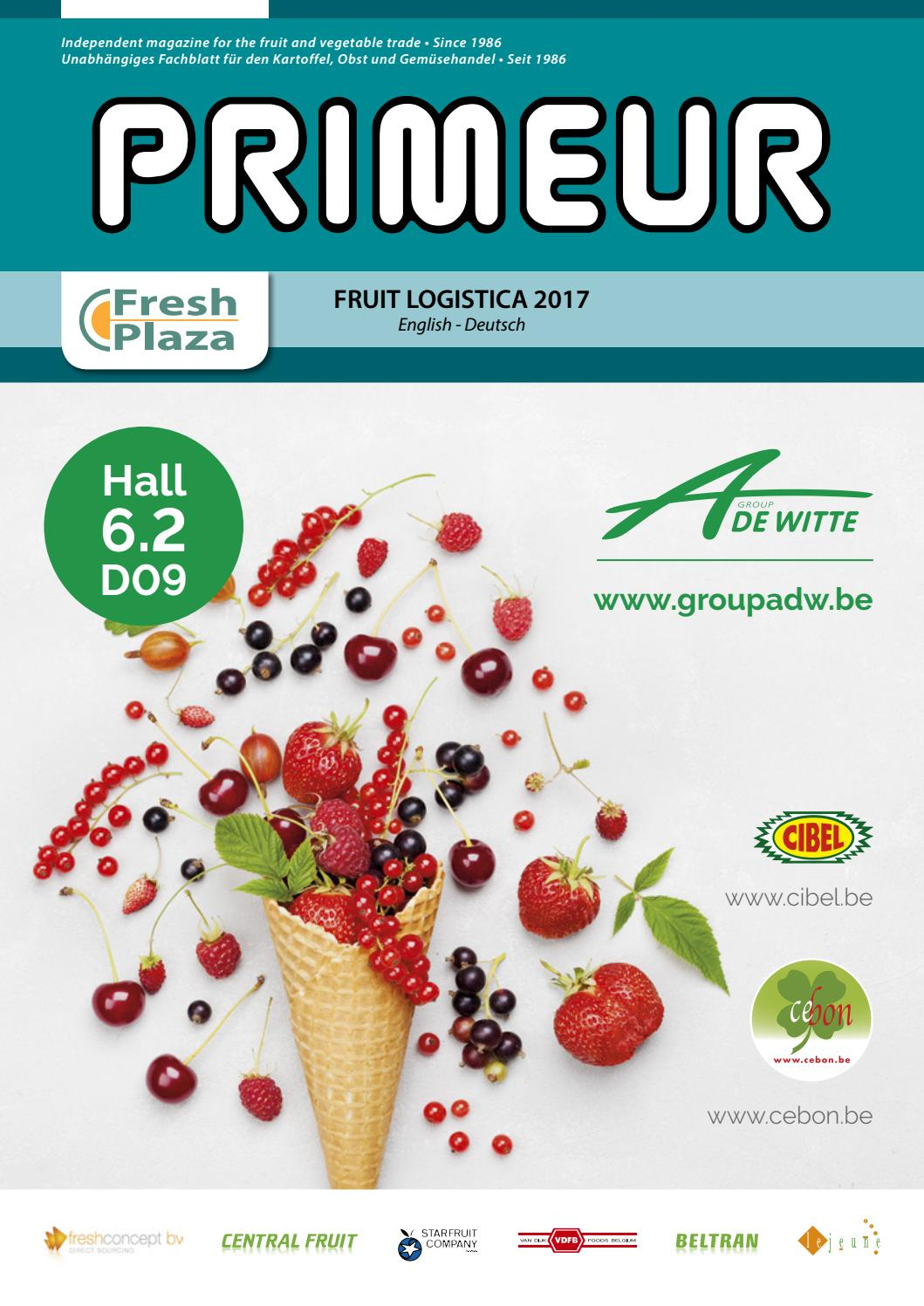 Primeur • Special edition • Fruit Logistica 2017 by AGF Vormgeving ...