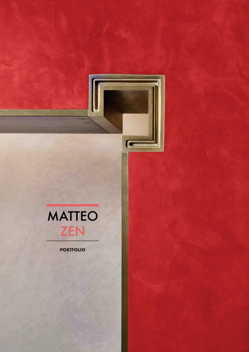 Conosciuto Portfolio IUAV by s.mattesini - issuu BZ97