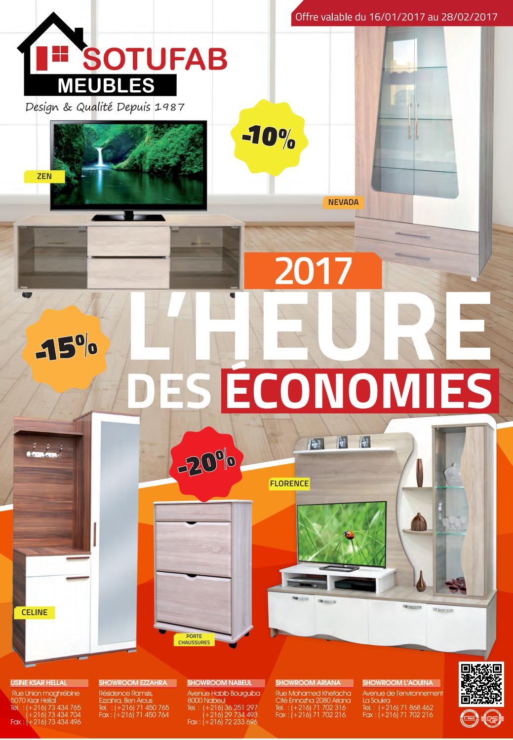 Catalogue Sotufab Meubles 2017 By Sotufab Tn Issuu # Photos De Meubles