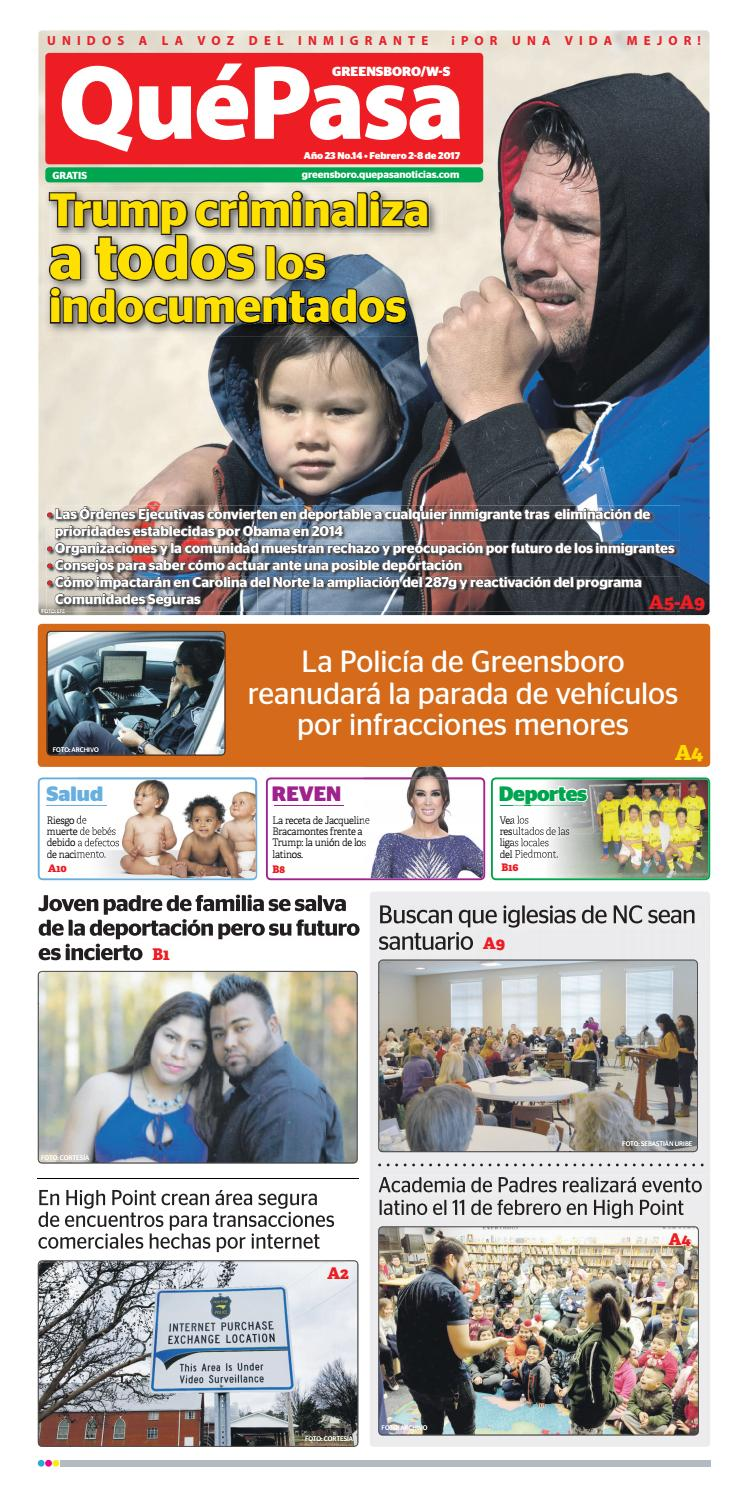 Quepasa greensboro v23n14 by Que Pasa Media Network - issuu