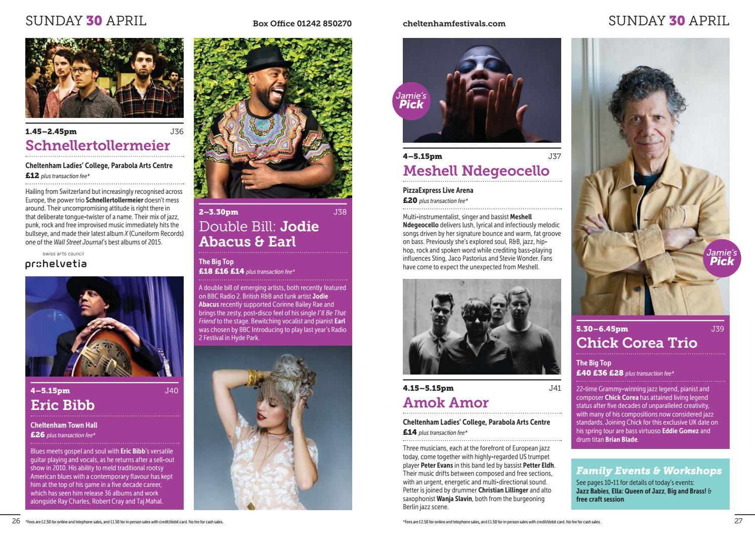 Cheltenham Jazz Festival 2017 - Brochure by Cheltenham
