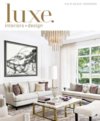 Luxe magazine march 2017 palm beach