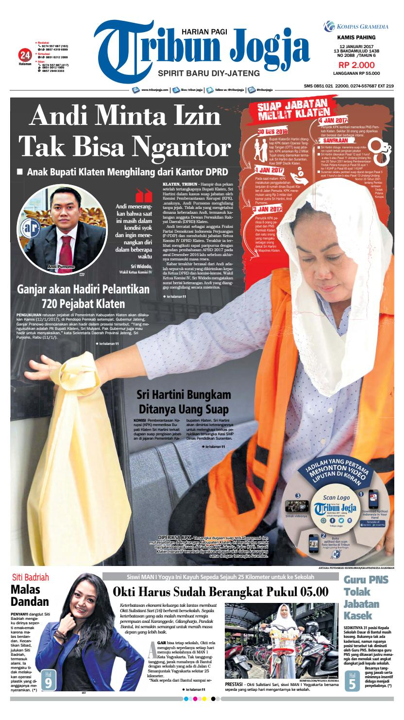 Tribunjogja 12 01 2017 By Tribun Jogja Issuu Produk Ukm Bumn Permen Tape Ladida
