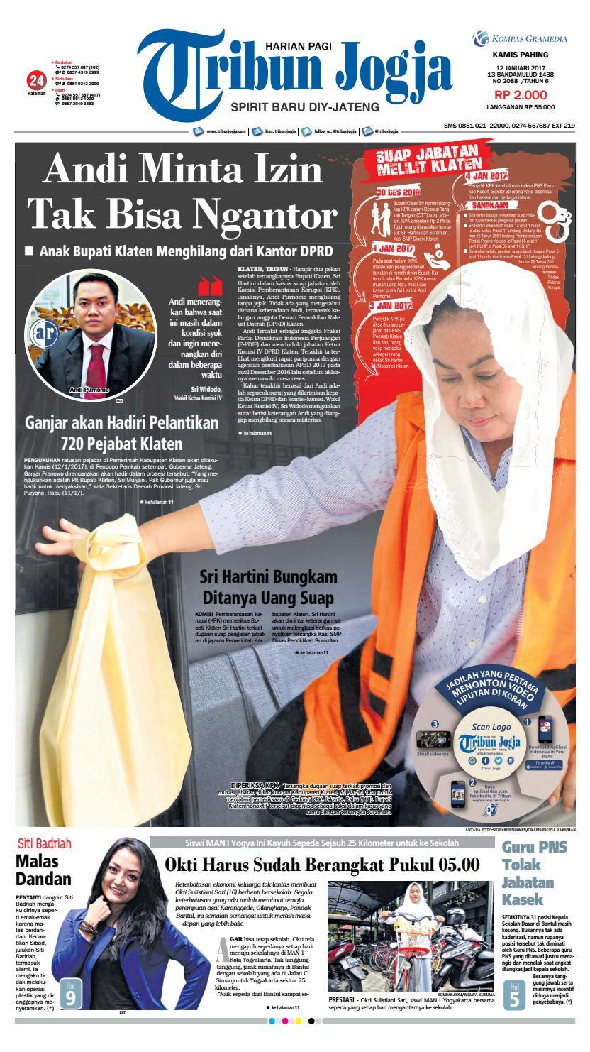 Tribunjogja 12 01 2017 By Tribun Jogja Issuu Produk Ukm Bumn Sambal Bawang Goreng Maklin