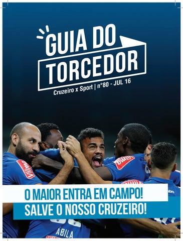 Guia do Torcedor - Cruzeiro x Sport - Nº 80 - Jul 16 by Cruzeiro ... f9ce431d63465