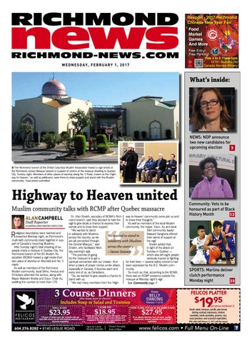 Richmond News February 1 2017 by Richmond News - issuu
