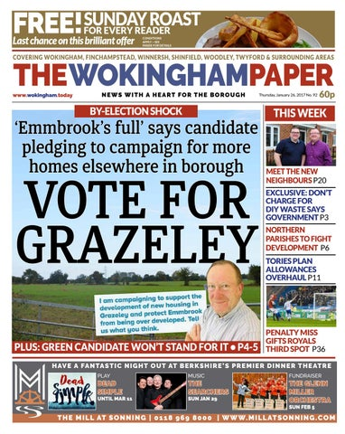 The Wokingham Paper January 26 2017 By The Wokingham Paper Issuu