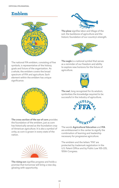 2016 Official Ffa Manual By National Ffa Organization Issuu