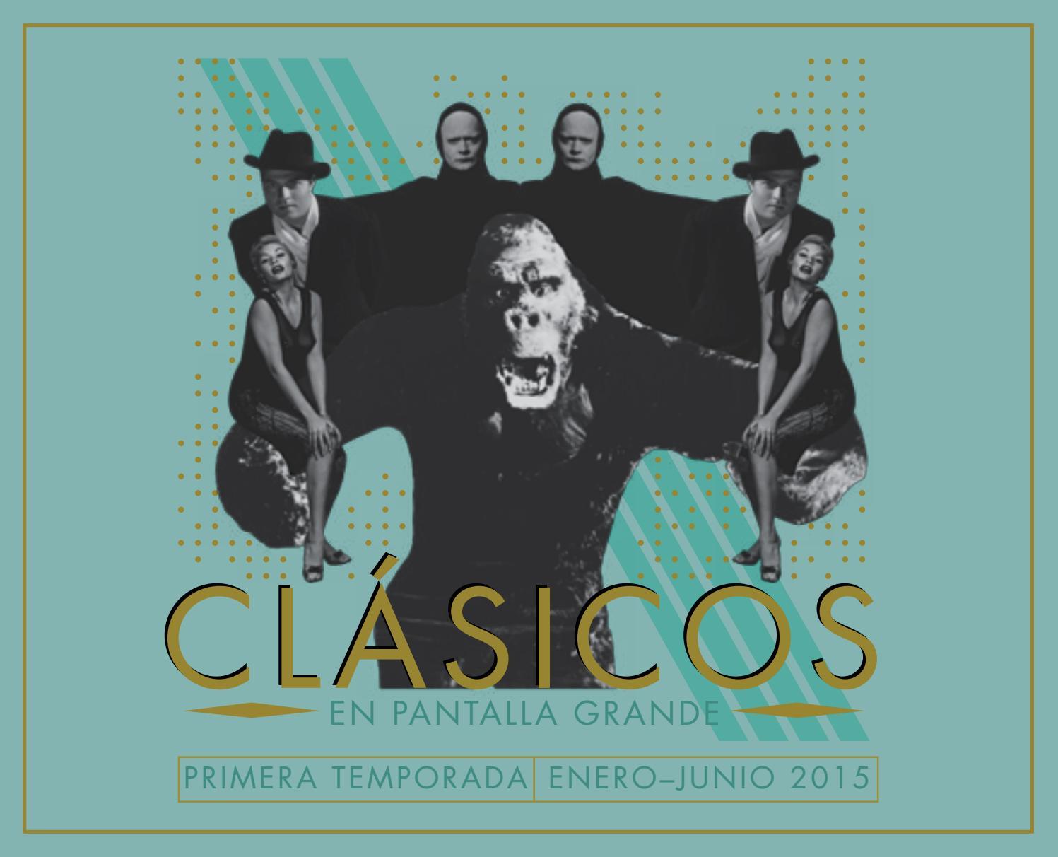 663b6c0ca Primera temporada de Clásicos en Pantalla Grande by Cineteca Nacional de  México - issuu