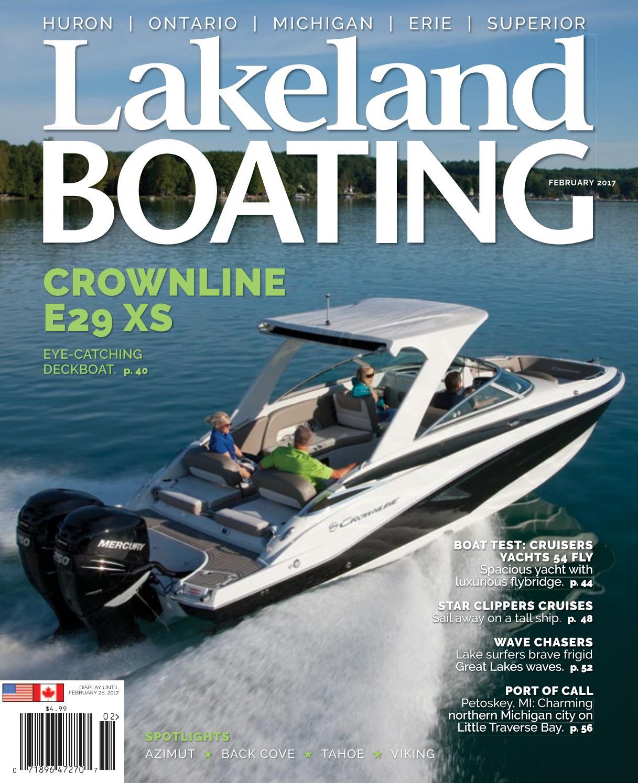 February 2017 By Lakeland Boating Magazine Issuu Crestliner Pontoon Boat Wiring Diagram