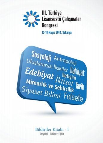 iii turkiye lisansustu calismalar