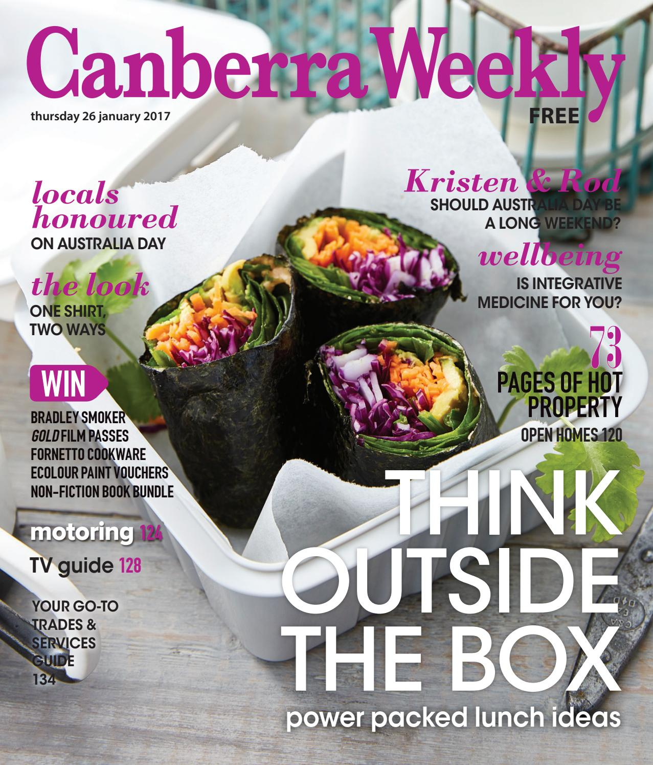 2ab7829c3 26 January 2017 by Canberra Weekly Magazine - issuu