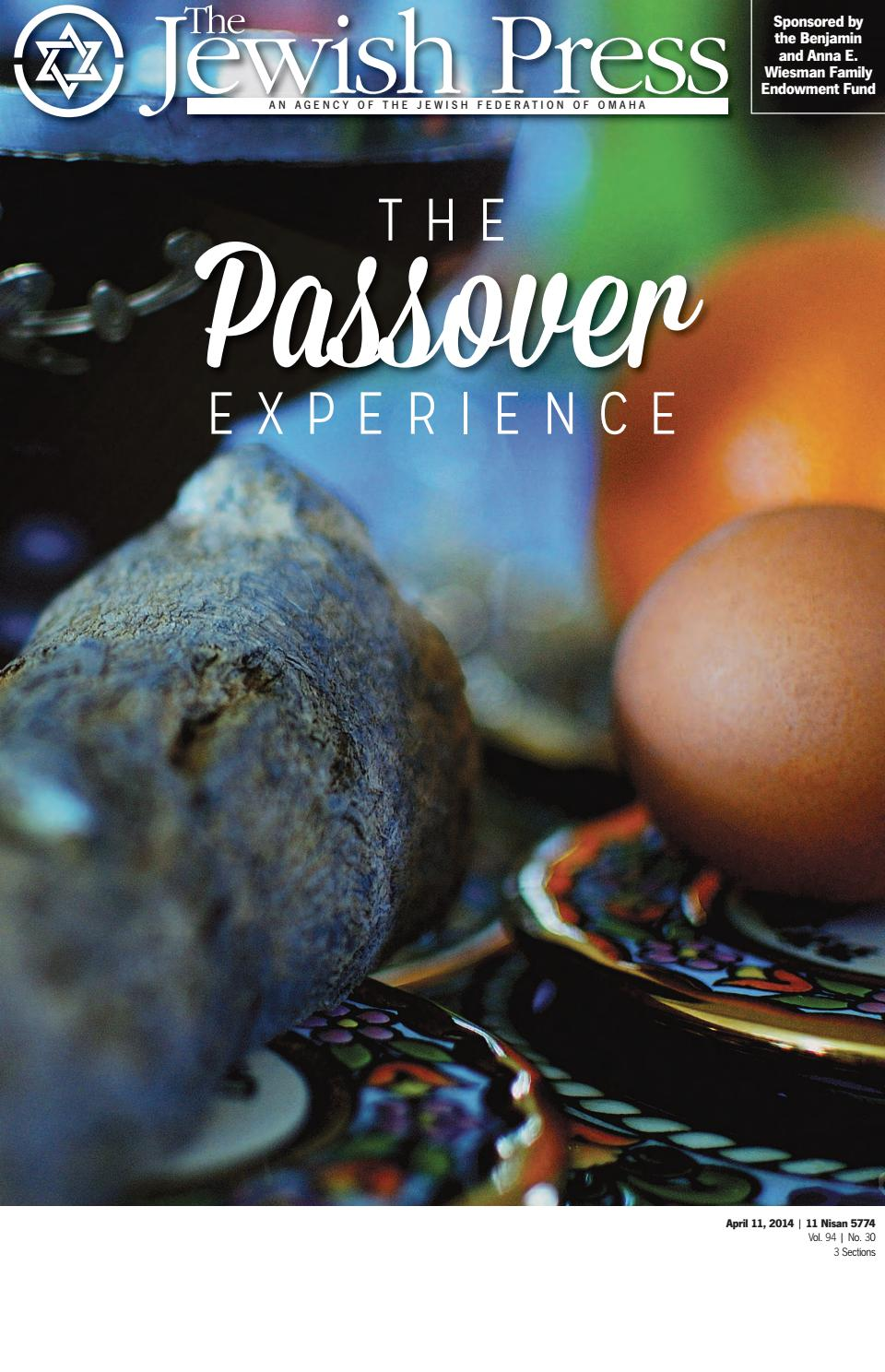 Apri 11 2014 Passover Edition By Jewish Press Issuu