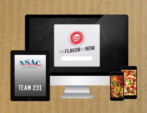 Pizza Hut Nsac 2015 Campaign Book By Aaron Huntley Issuu