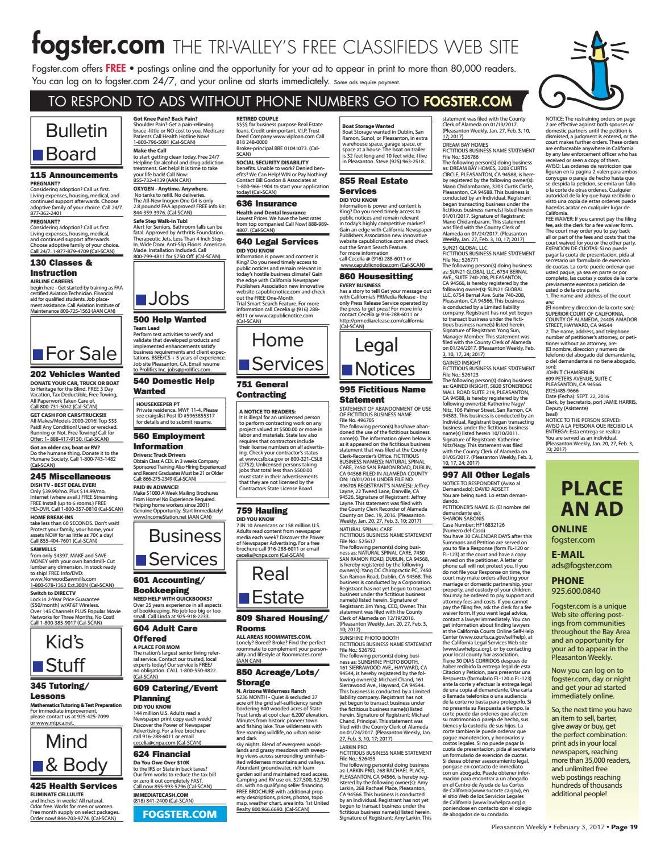 Pleasanton Weekly February 3, 2017 by Pleasanton Weekly - issuu