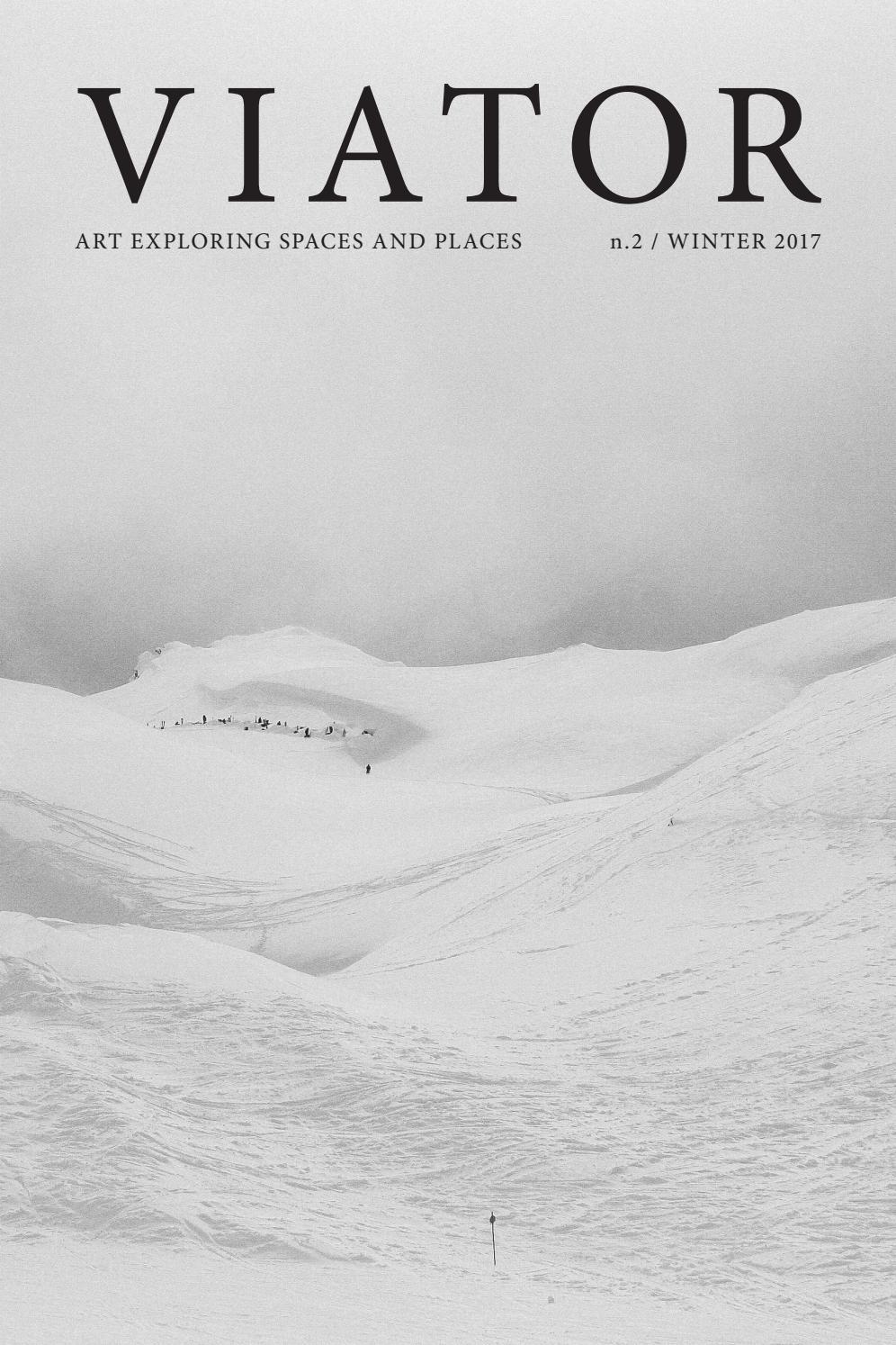 VIATOR n. 2 Winter 2017 by Viator Project - issuu