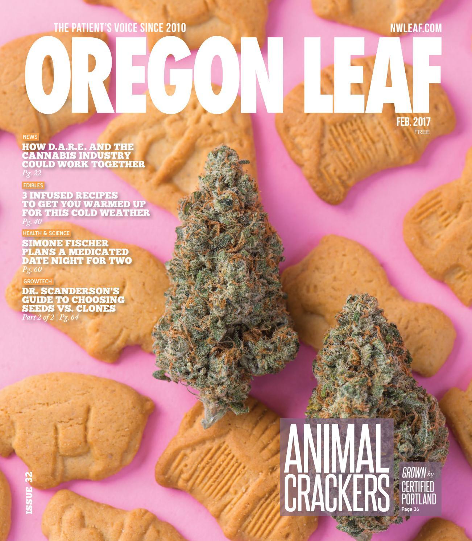Oregon Leaf — Feb  2017 by Northwest Leaf / Oregon Leaf
