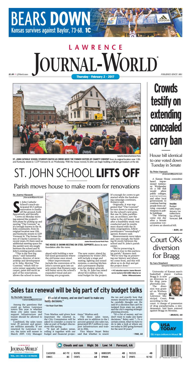 Lawrence Journal-World 2-2-2017