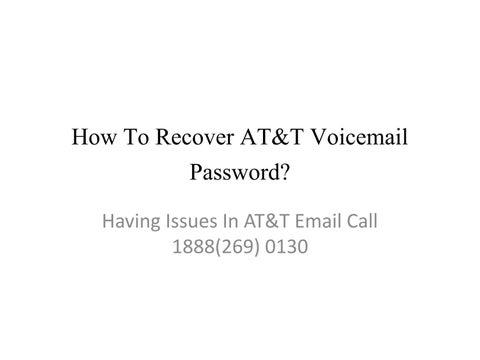 att visual voicemail app iphone