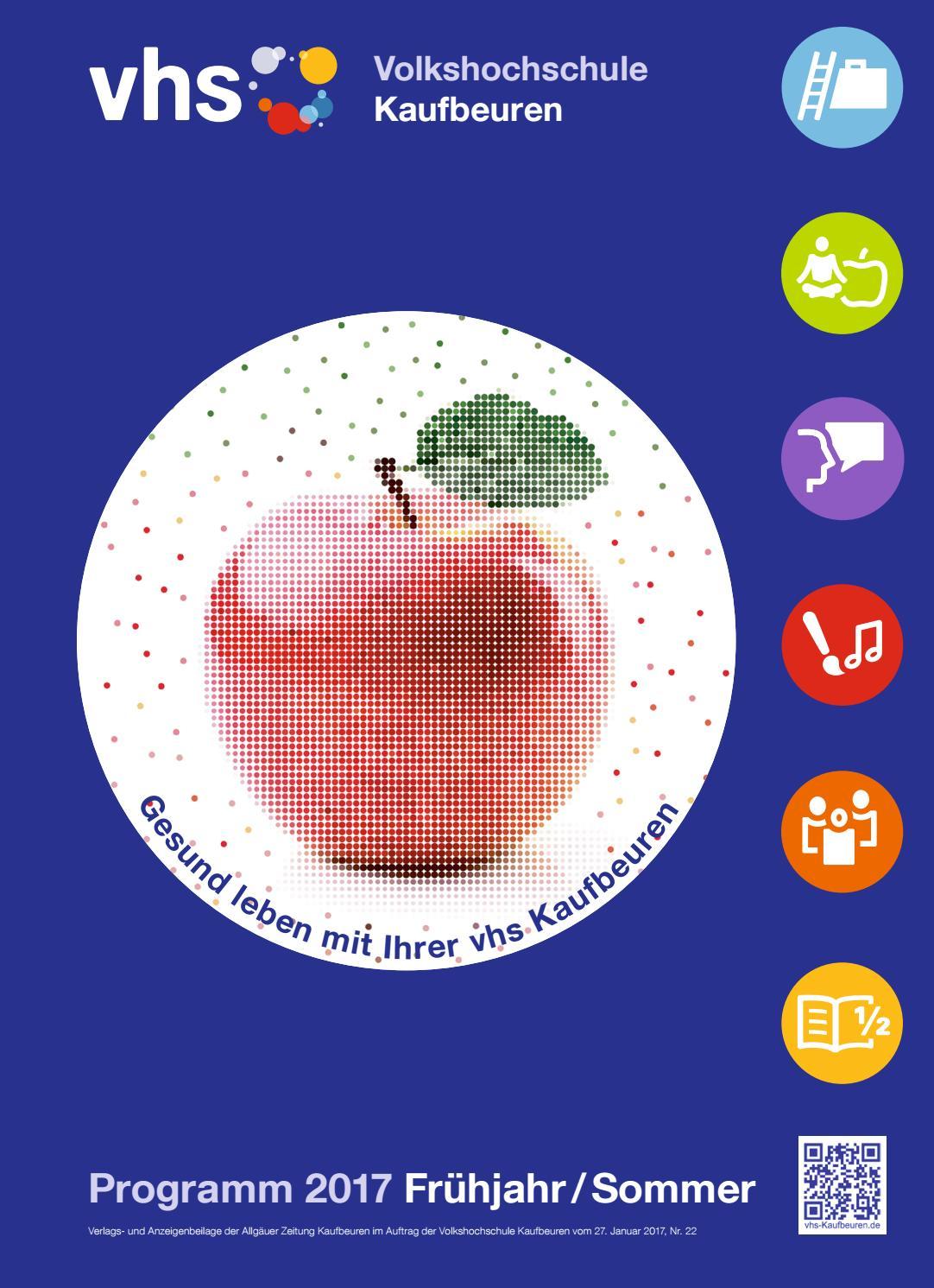 Programm frühjahr sommer 2017 vhs kaufbeuren by Volkshochschule ...